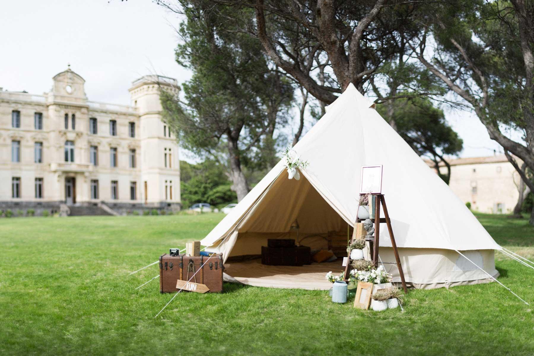 location tente mariage retro mon wedding camping. Black Bedroom Furniture Sets. Home Design Ideas