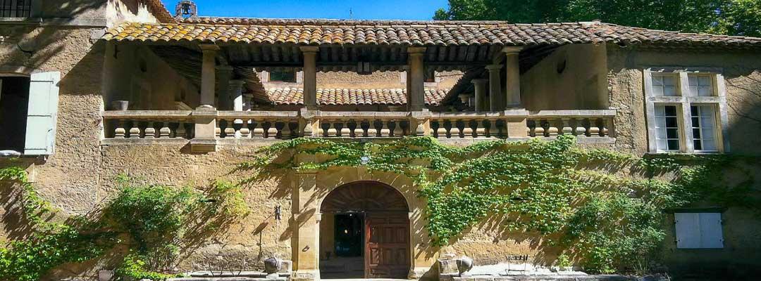 location tente mariage chateau beaupre saint laurent des arbres gard provence - Château Beaupré