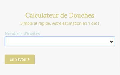 Mon Calculateur de Douches