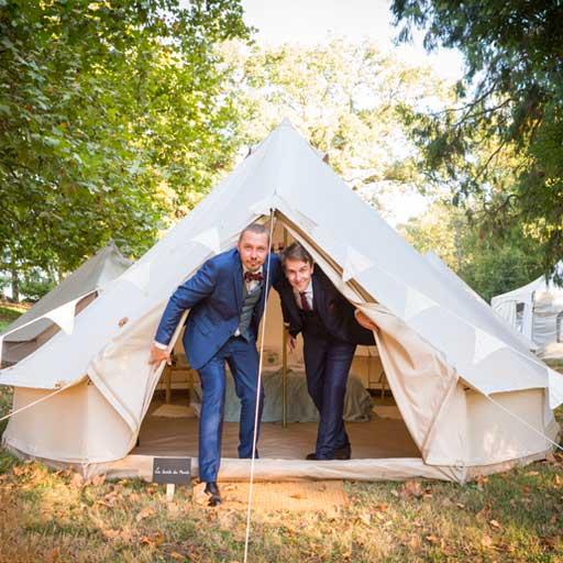location tente mariage 1 - Nos locations de Tente Mariage Tipi