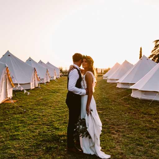 village tipi mariage 1 1 - Nos locations de Tente Mariage Tipi