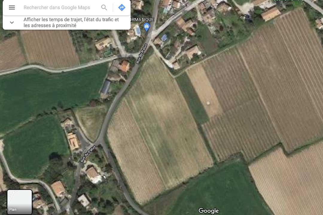 vue expertise terrain - Comment mesurer son terrain ?