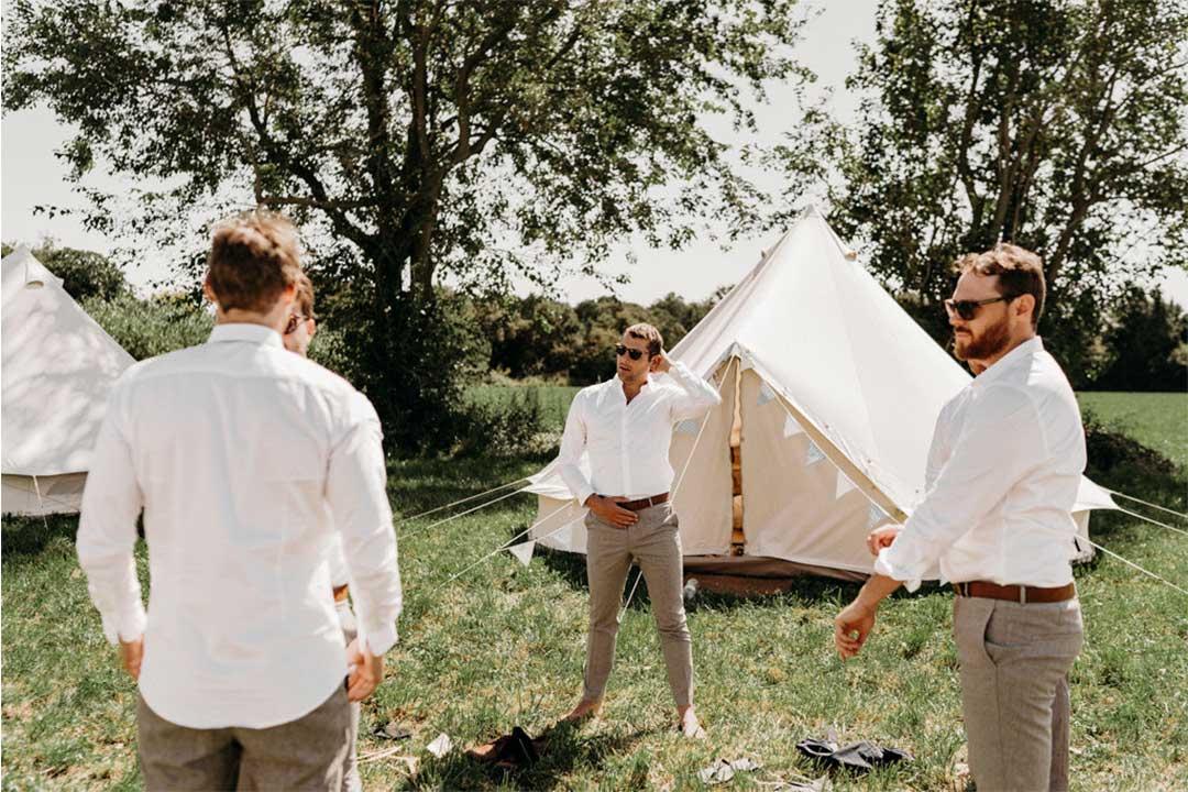 wedding camping bonne ambiance invite partage complicite mariage - 5 bonnes raisons d'installer un Wedding Camping